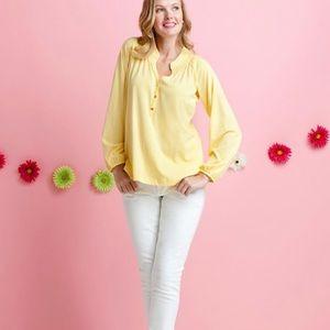 Lilly Pulitzer | Cotton Elsa Yellow Long Sleeve